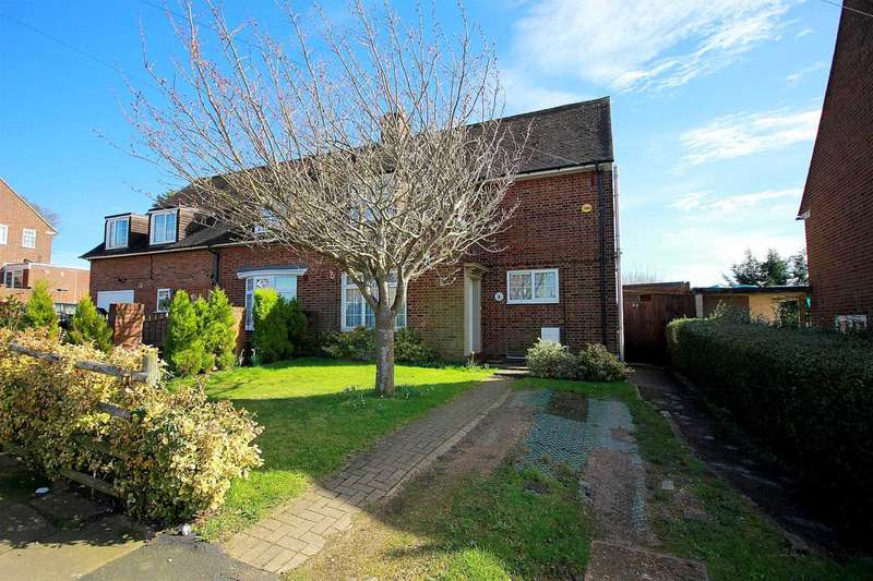 3 Bedrooms Semi Detached House for sale in EXTENDED 3 DOUBLE BED IN Hobbs Hill Road, HP3