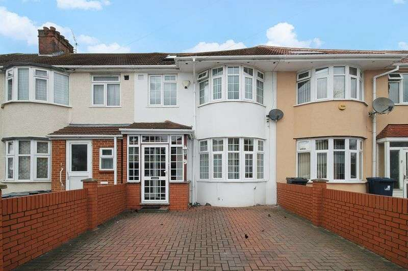 4 Bedrooms Terraced House for sale in Somerset Road, Southall