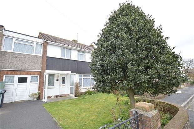 4 Bedrooms Semi Detached House for sale in Bourne Close, Winterbourne, BRISTOL, BS36 1PJ
