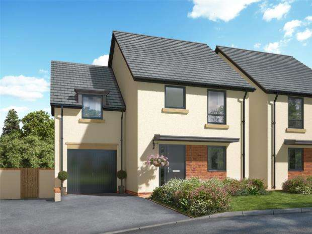 4 Bedrooms Semi Detached House for sale in Meldon Fields, Okehampton, Devon