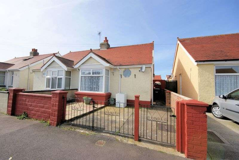 2 Bedrooms Semi Detached Bungalow for sale in Clyde Road, Gosport
