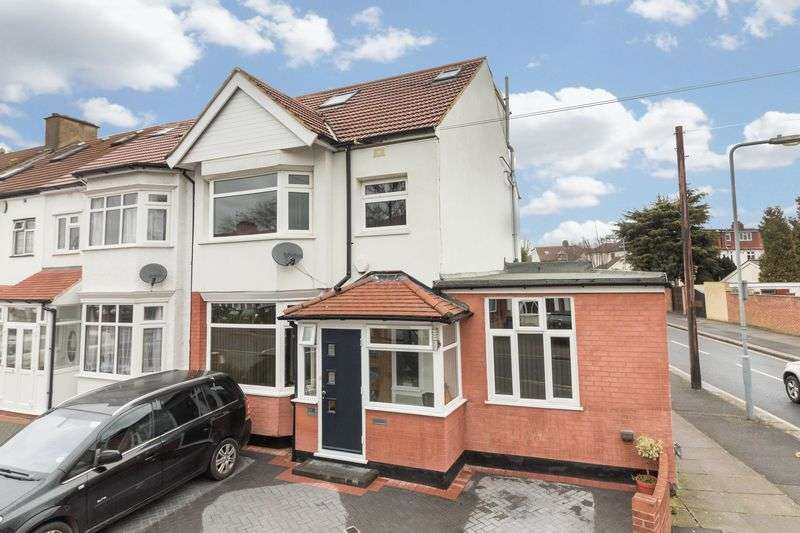 4 Bedrooms Semi Detached House for sale in Gantshill Crescent, Ilford