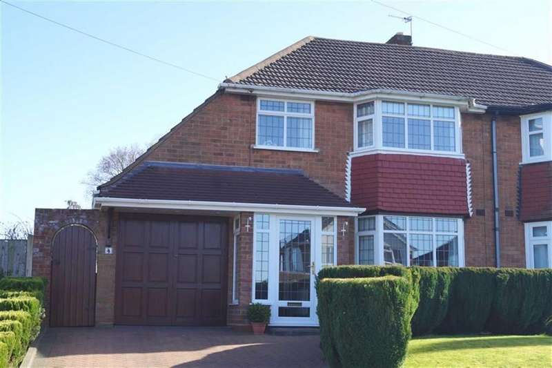 3 Bedrooms Semi Detached House for sale in Ashbourne Road, Ettingshall Park, Wolverhampton