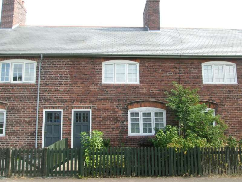 3 Bedrooms Terraced House for sale in Model Village, Creswell, Worksop, Nottinghamshire, S80