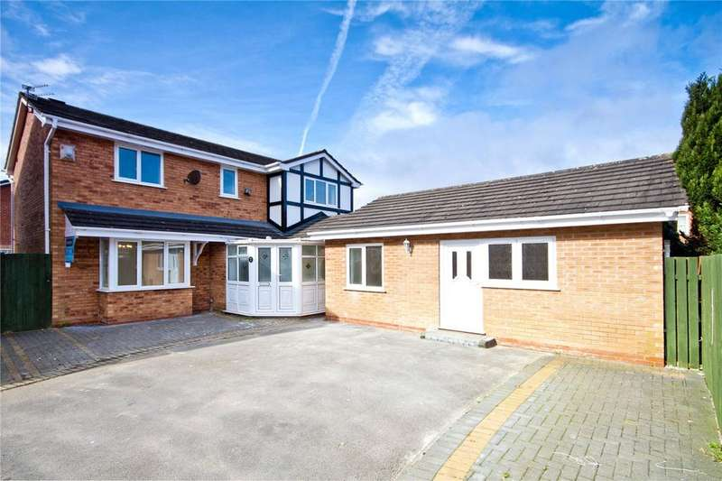 4 Bedrooms Detached House for sale in Magnolia Close, Liverpool, Merseyside, L26