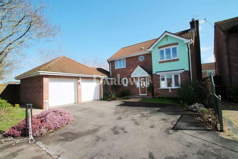 4 Bedrooms Detached House for sale in The Meadows, Marshfield, Cardiff