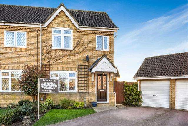3 Bedrooms Semi Detached House for sale in Pinsent Avenue, Bromham