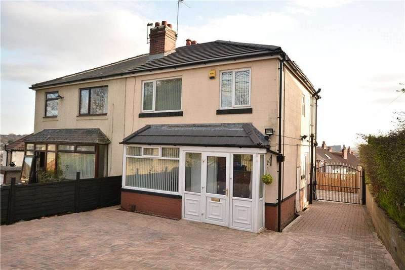 3 Bedrooms Semi Detached House for sale in Mount Pleasant Avenue, Off Roundhay Avenue, Leeds