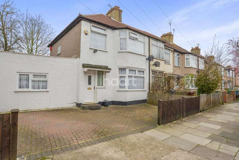 4 Bedrooms End Of Terrace House for sale in Tudor Road, Harrow, HA3