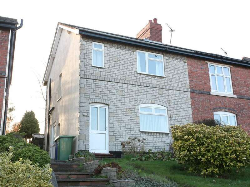 2 Bedrooms Semi Detached House for sale in 269 Stafford Road, Cannock, WS11 4AT