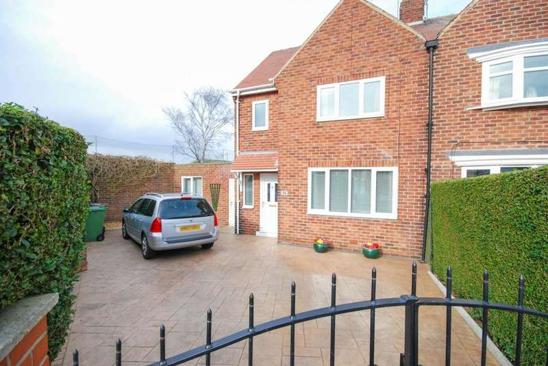 3 Bedrooms Semi Detached House for sale in Oxford Close, Silksworth