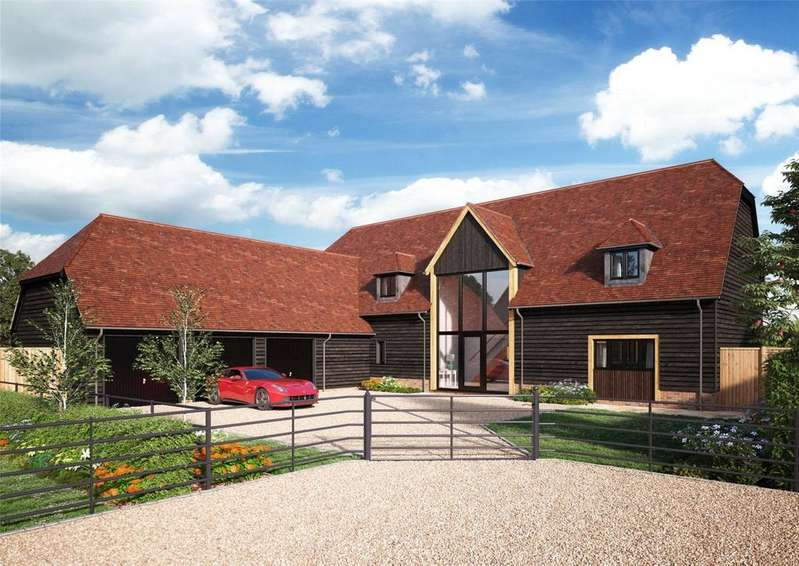 4 Bedrooms Detached House for sale in Hawkswood, Dropshort Farm, Childrey, Wantage, Oxfordshire, OX12