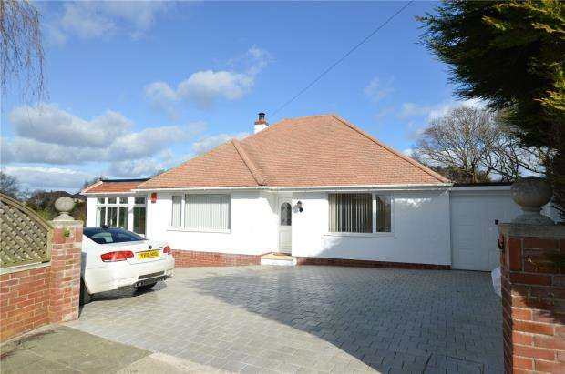 3 Bedrooms Detached Bungalow for sale in Aller Park Road, Newton Abbot, Devon