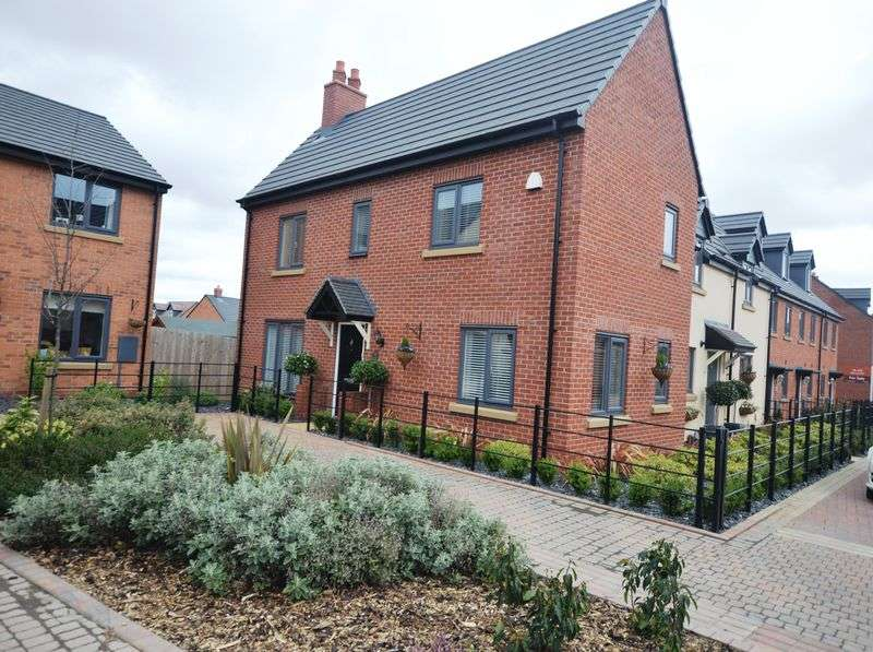 4 Bedrooms Detached House for sale in Duddell Street, Telford