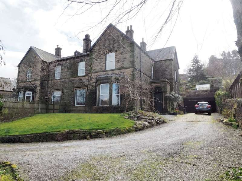 5 Bedrooms Semi Detached House for sale in New Mills Road, Birch Vale, High Peak, Derbyshire, SK22 1BT