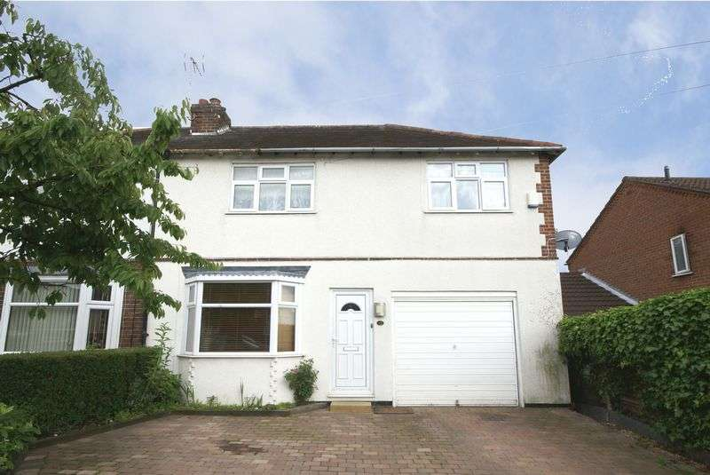 3 Bedrooms Semi Detached House for sale in OAKLANDS AVENUE, LITTLEOVER