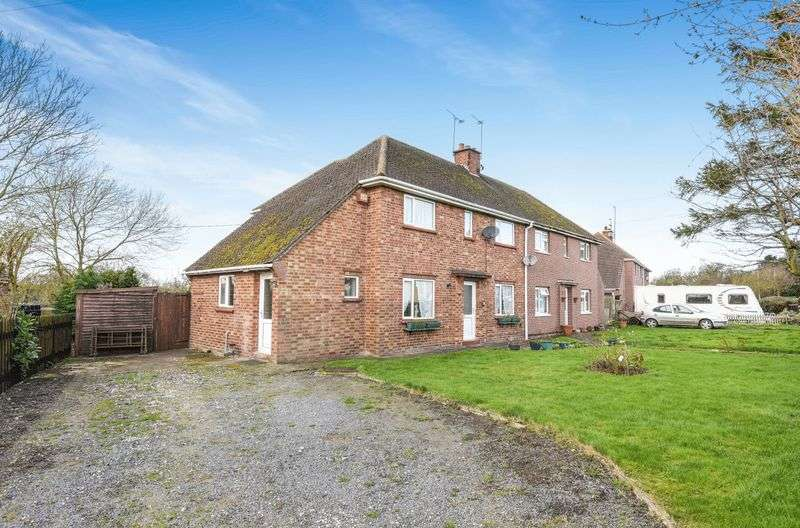 3 Bedrooms Semi Detached House for sale in Winwick Road, Great Gidding