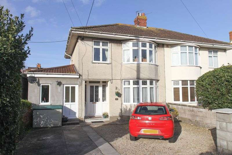 3 Bedrooms Semi Detached House for sale in Westbourne Avenue, Clevedon