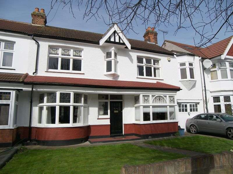 4 Bedrooms Terraced House for sale in BRANDVILLE GARDENS, BARKINGSIDE IG6