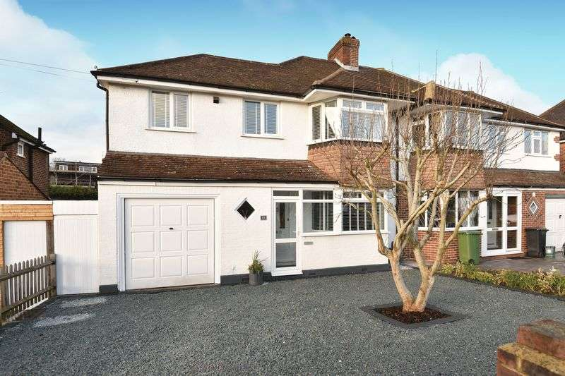 4 Bedrooms Semi Detached House for sale in Craddocks Avenue, Ashtead