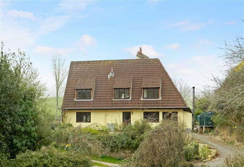 3 Bedrooms Semi Detached House for sale in Huntscott, Wootton Courtenay, Minehead, Somerset, TA24
