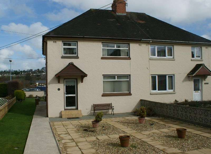 3 Bedrooms Semi Detached House for sale in New Road, Newcastle Emlyn, Carmarthenshire SA38