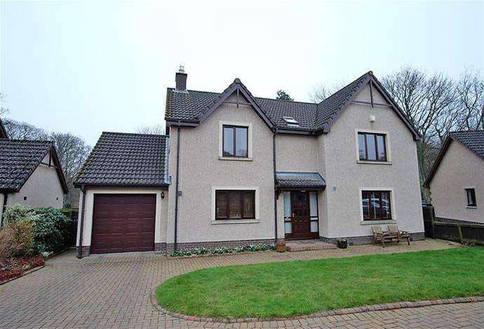4 Bedrooms Detached House for sale in Caledon Abbotsview Drive, Galashiels, TD1 3SL