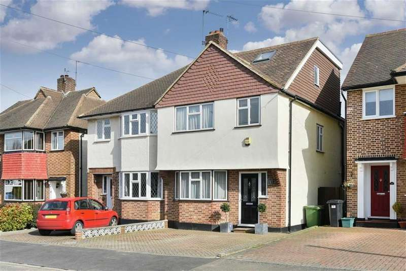 4 Bedrooms Semi Detached House for sale in Parkdale Crescent, Worcester Park, Surrey