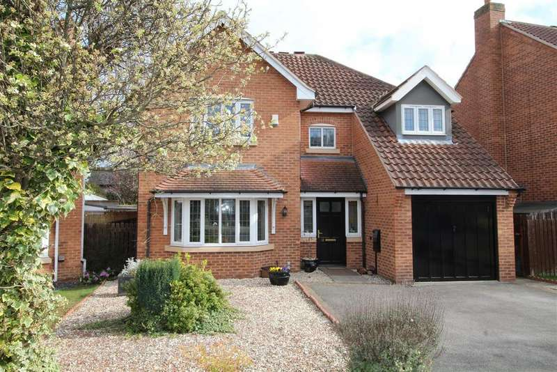 4 Bedrooms Detached House for sale in Harley Close, Worksop