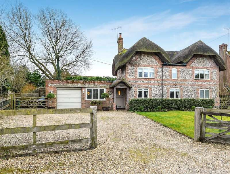 4 Bedrooms Detached House for sale in Aughton, Collingbourne Kingston, Marlborough, Wiltshire