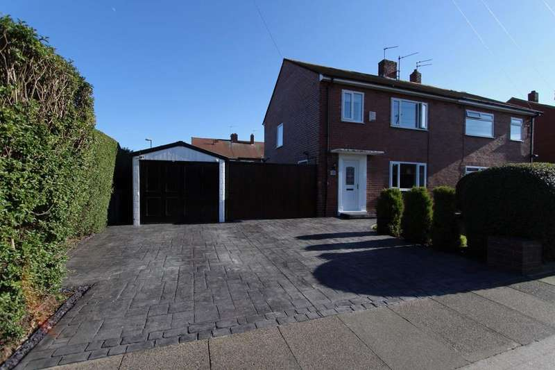3 Bedrooms Semi Detached House for sale in Centenary Avenue, South Shields