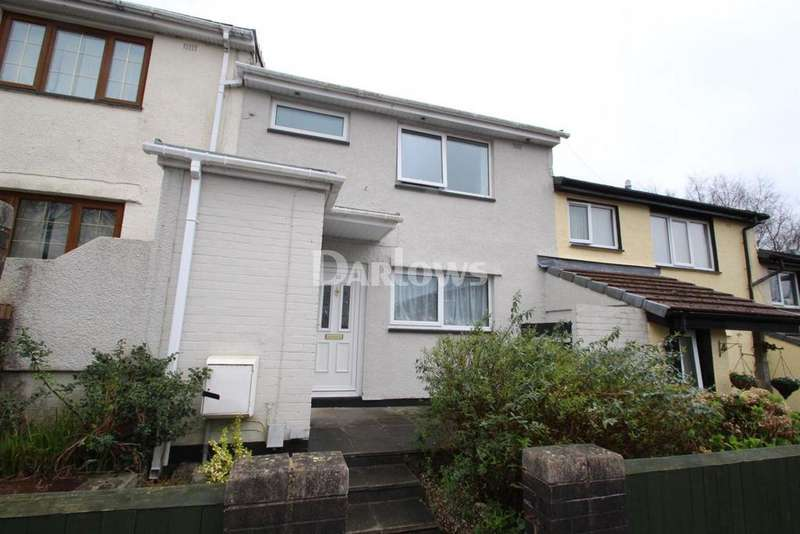 3 Bedrooms Terraced House for sale in Tennyson Close, Rhydyfelin
