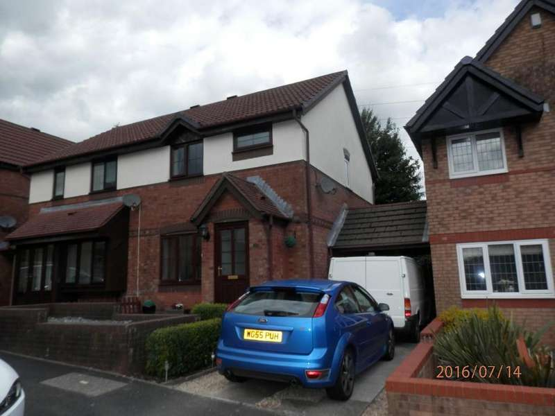 3 Bedrooms Semi Detached House for sale in Wern Fach Court, Henllys