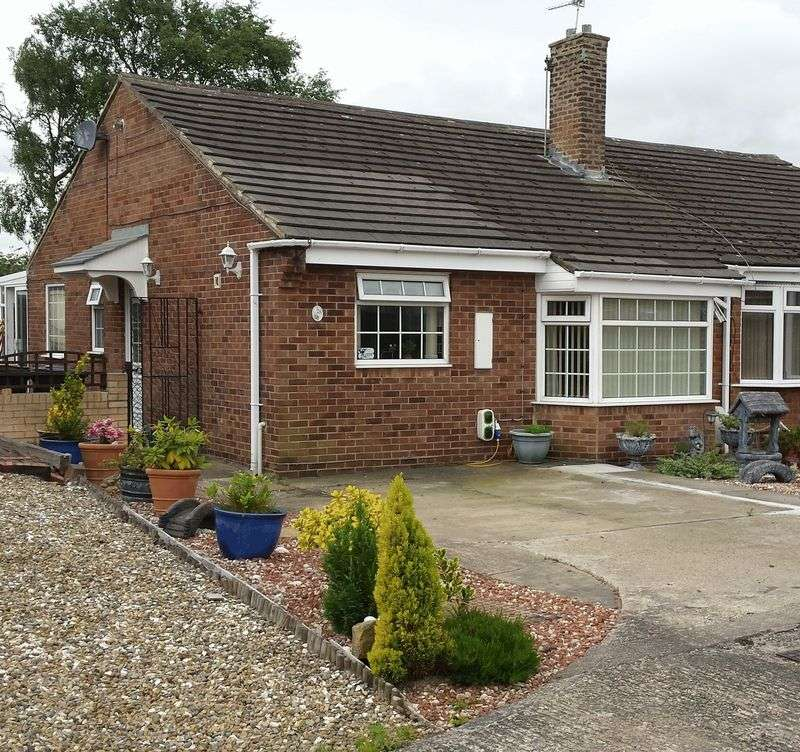 2 Bedrooms Semi Detached Bungalow for sale in Coppice Hill, DH7 9QQ