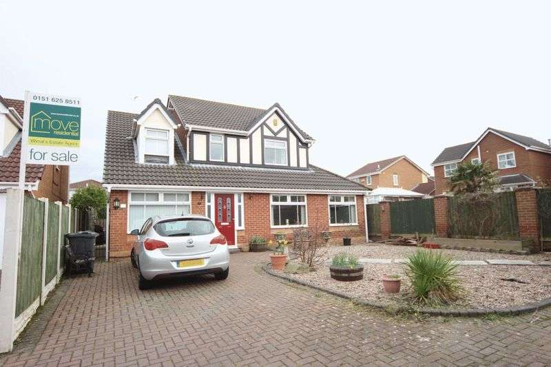 4 Bedrooms Detached House for sale in Carnoustie Close, Moreton, Wirral