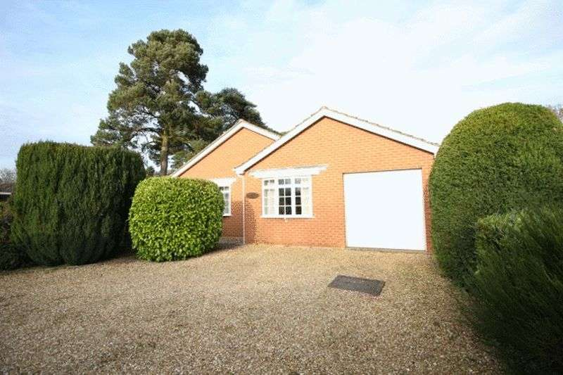 3 Bedrooms Detached Bungalow for sale in Woodland Drive, Woodhall Spa