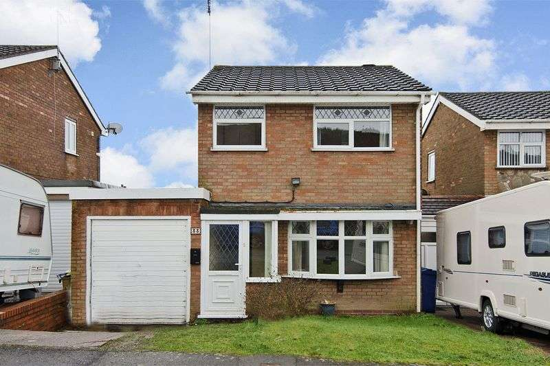 3 Bedrooms Detached House for sale in Longacres, Hednesford, Cannock