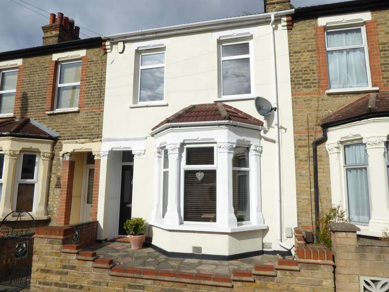 2 Bedrooms Terraced House for sale in Palmeira Road, Bexleyheath, Kent, DA7 4UX