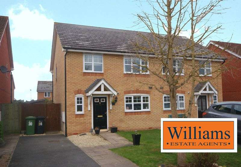 3 Bedrooms Semi Detached House for sale in Bredon Drive, Hereford