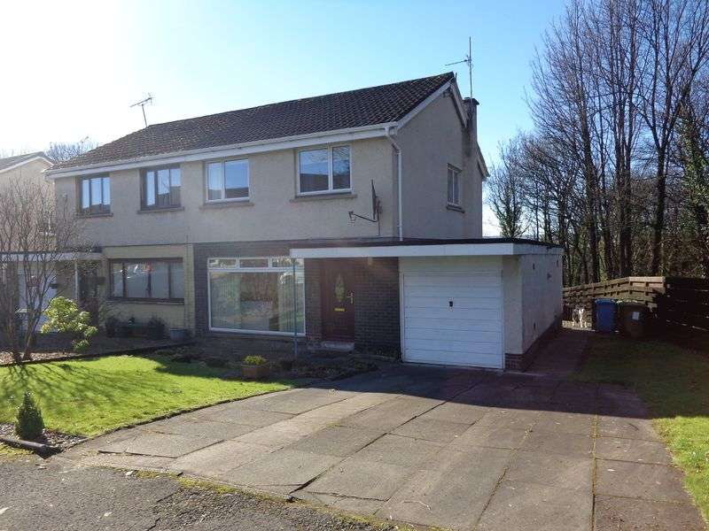 3 Bedrooms Semi Detached House for sale in 71 Woodside Road, Tullibody