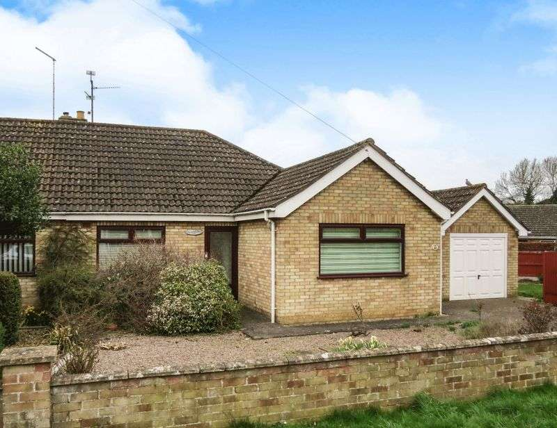 2 Bedrooms Semi Detached Bungalow for sale in Bourne
