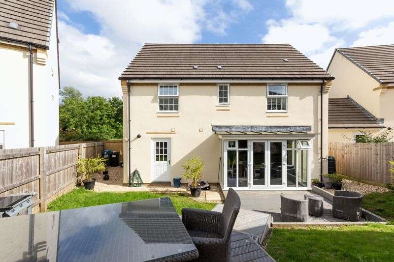 4 Bedrooms Detached House for sale in Lower Trindle Close, Chudleigh, Newton Abbot