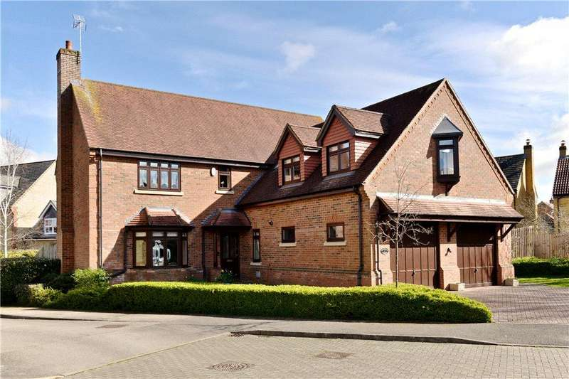 5 Bedrooms Detached House for sale in Hayman Rise, Grange Farm, Milton Keynes, Buckinghamshire