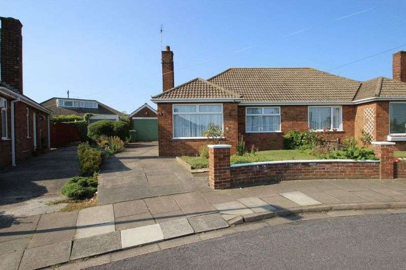 2 Bedrooms Semi Detached Bungalow for sale in PHILIP GROVE, CLEETHORPES