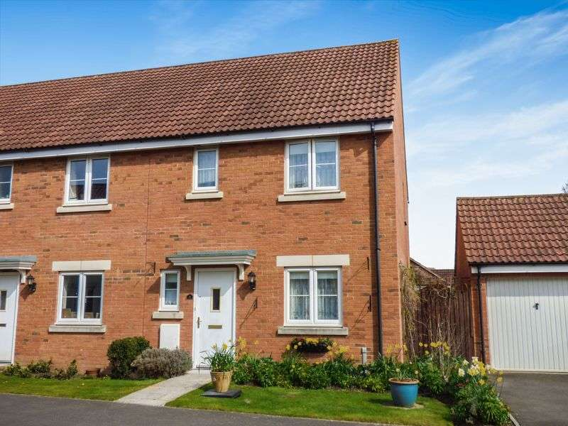 3 Bedrooms Terraced House for sale in Thestfield Drive, Trowbridge