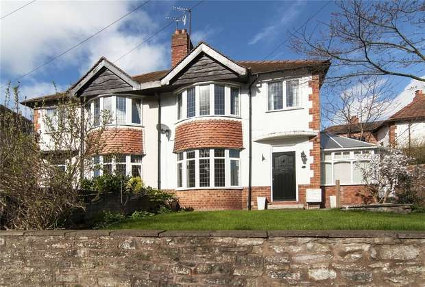 3 Bedrooms Semi Detached House for sale in 4 Temeside Estate, Ludlow, Shropshire