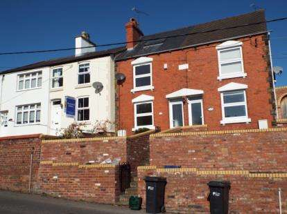 2 Bedrooms Terraced House for sale in Park View, Village Road, Northop Hall, Mold, CH7