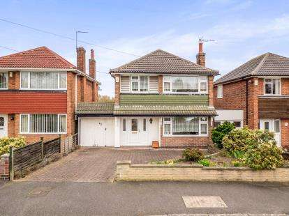 3 Bedrooms Detached House for sale in Christina Crescent, Cinderhill, Nottingham, Nottinghamshire