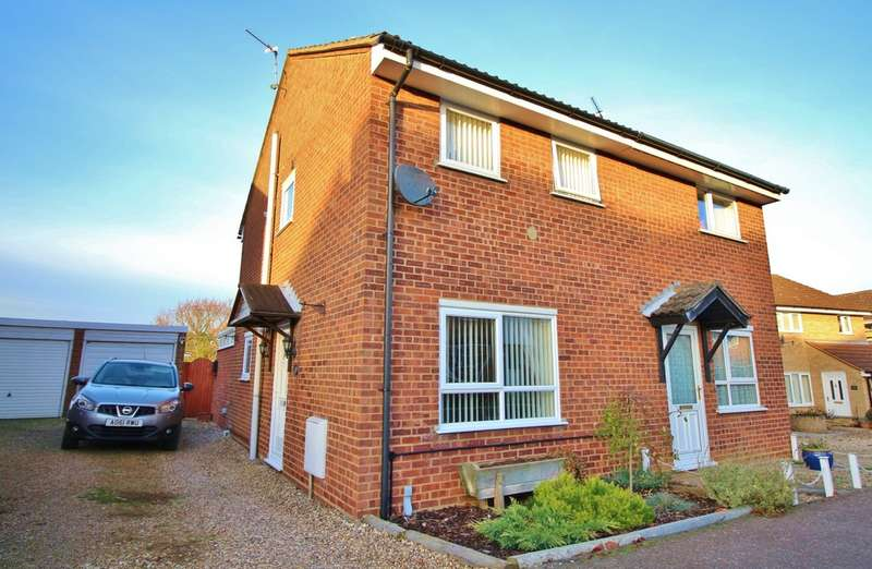 2 Bedrooms Semi Detached House for sale in Chestnut Avenue, Spixworth