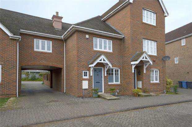 3 Bedrooms Terraced House for sale in Wintney Street, Elvetham Heath, Hampshire